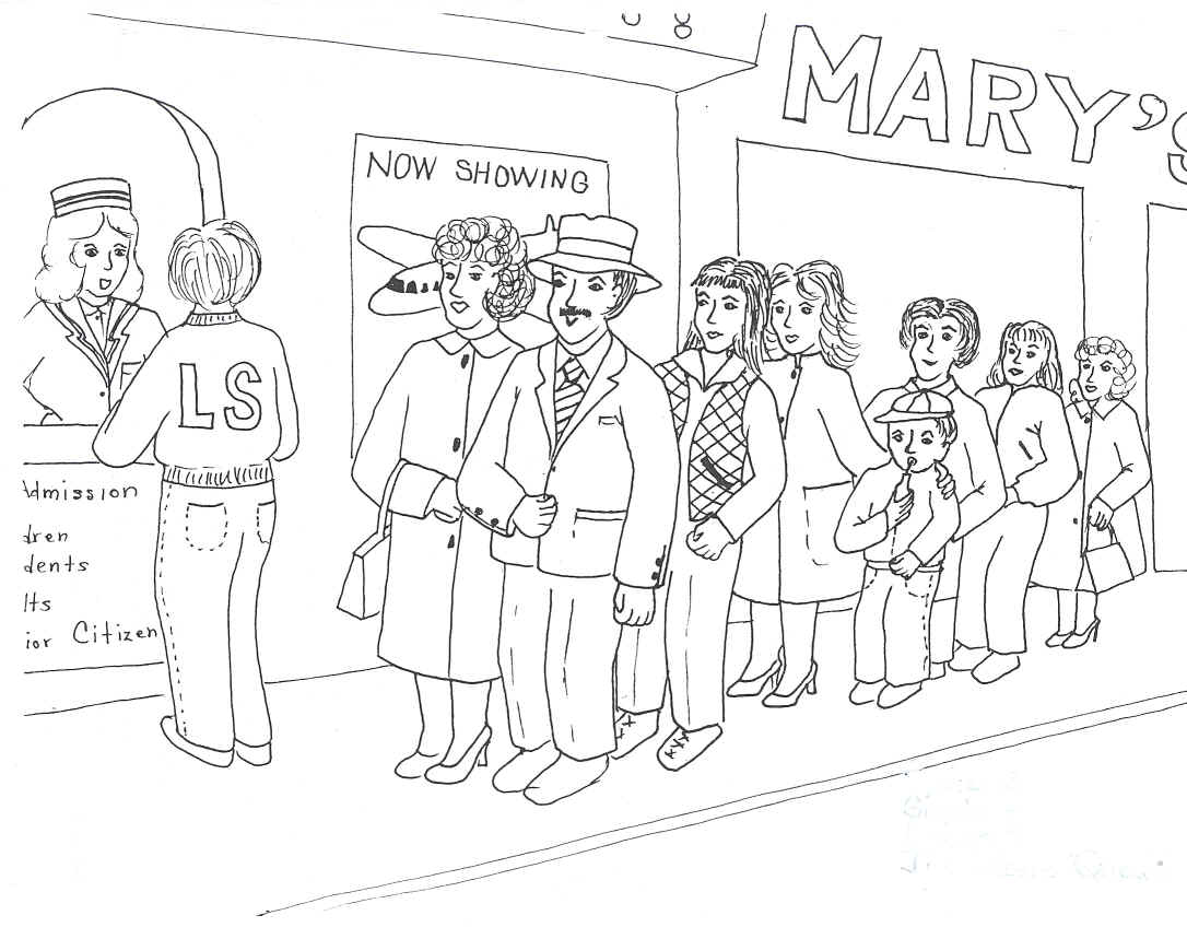 When Scanning Line Art You Should : The movie queue