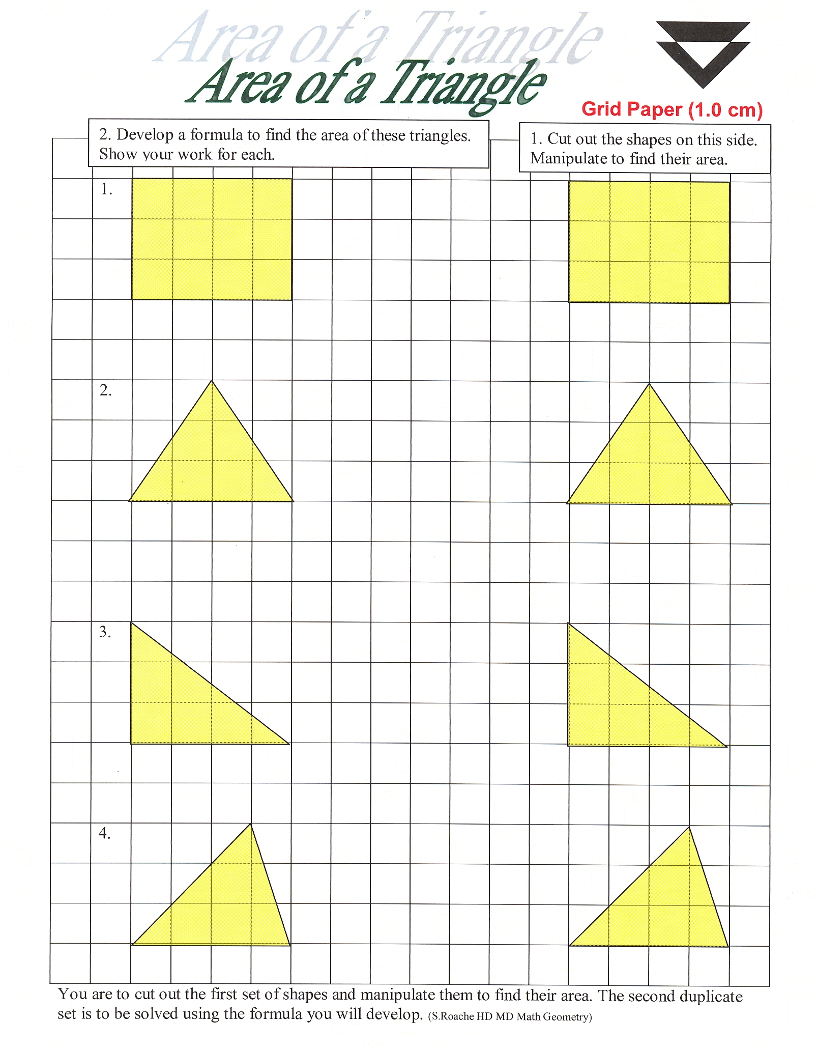 How To Find The Area Of A Triangle Not Drawn On Grid 04dec2006 14:39 963k  Example